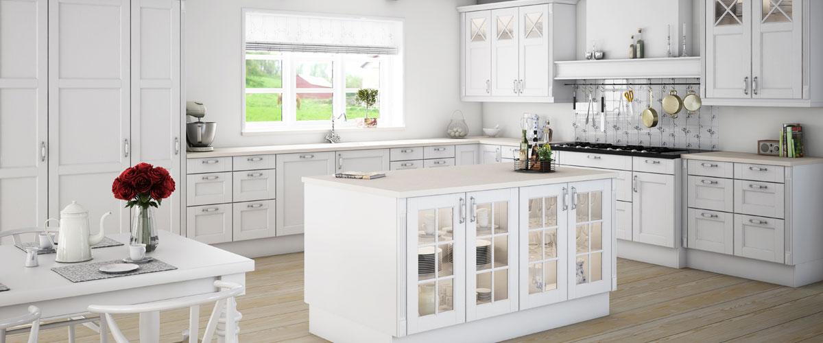 Kimbrer - modulkøkken direkte fra køkkensnedkeriet. Design til ethvert budget - få mere køkken for pengene.