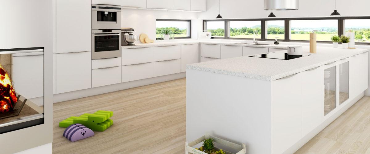 Kimbrerlines - modulkøkken direkte fra køkkensnedkeriet. Få mere køkken for pengene.