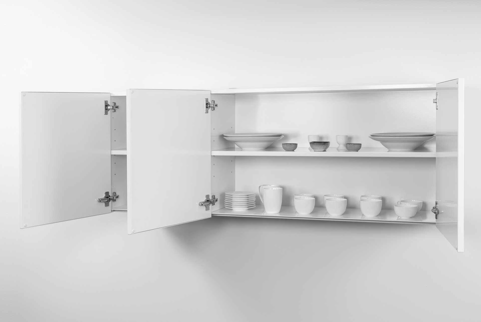HSPL 150-1 overskab til rustfrit stål minikøkken fra Kimbrer Lines