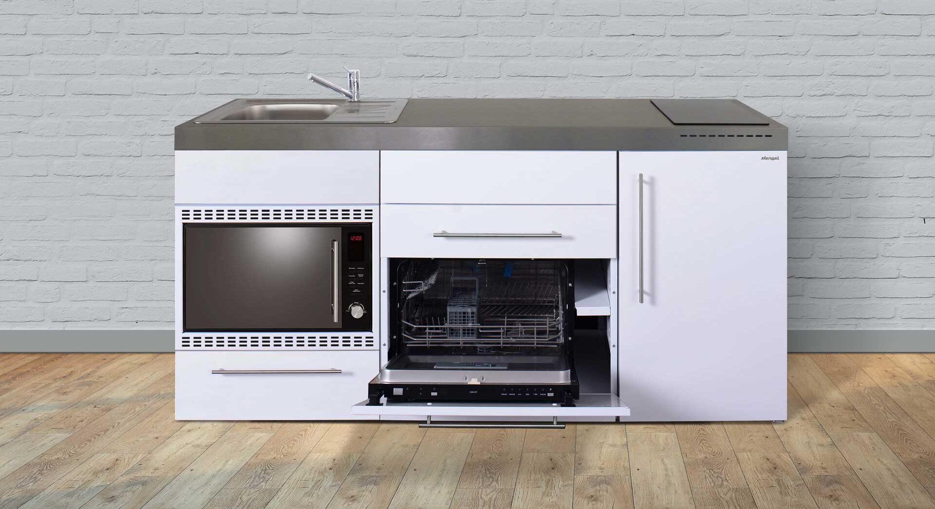 MPGSMOS 180 minikøkken / stålkøkken - lille klassisk køkken i rustfrit stål - se pris, produktinfo og tilvalg. 8 moderne farver. Tilbud og pris hos Kimbrer Lines, Røjbækvej 3, 9640 Farsø, tlf. 25126789