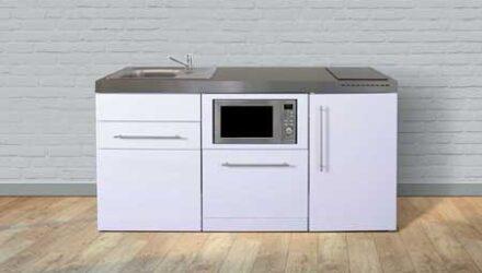 MPGSM 170 minikøkken fra Kimbrer - rustfrit stål, inkl. alle hvidevarer og i 8 flotte farver