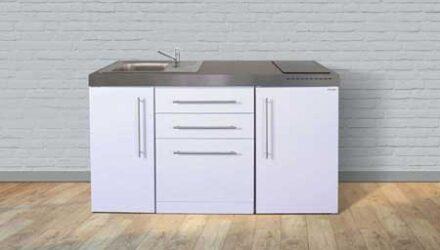 MPGS 150 minikøkken fra Kimbrer - smart lille køkken i rustfrit stål, inkl. alle hvidevarer og i 8 flotte farver. Besøg www.kimbrerlines.dk