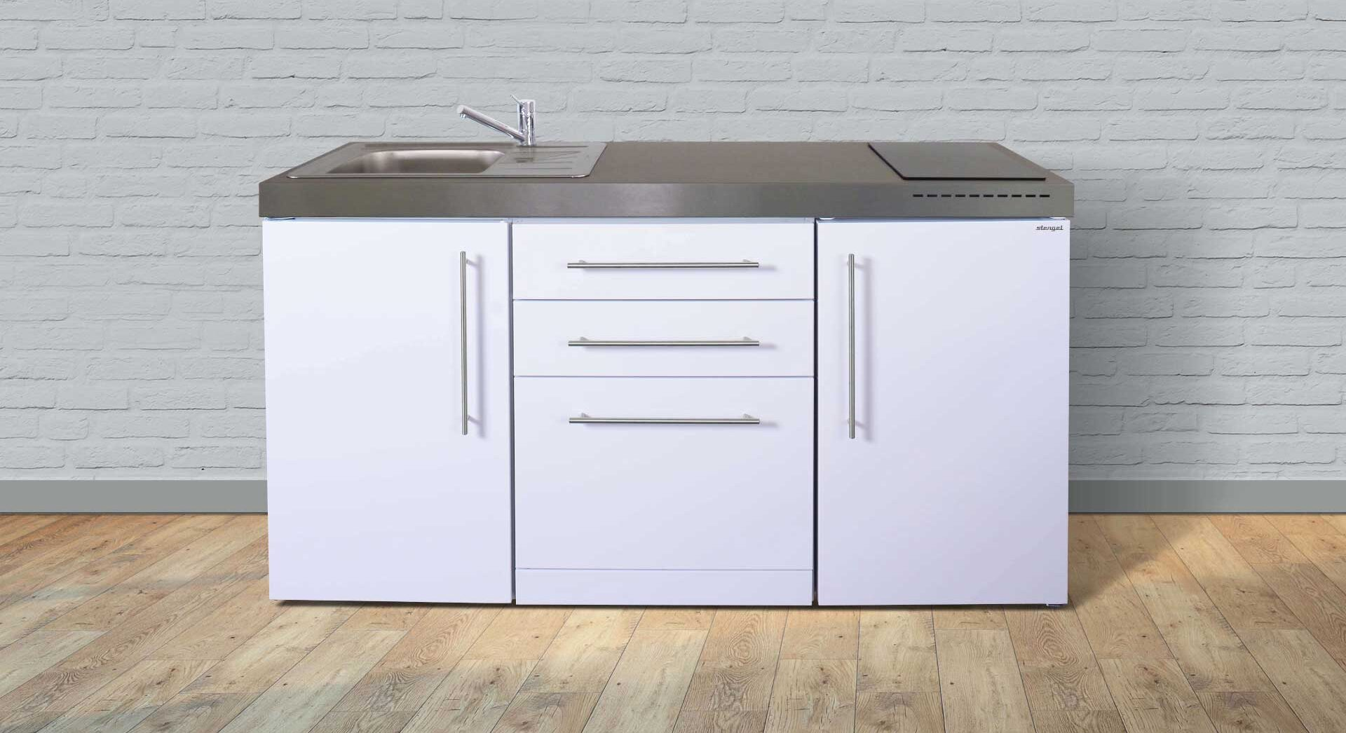 Kimbrer Minikøkken MPGS 160 inkl. køleskab, opvaskemaskine mm. Tilbud/pris, produktinfo og tilvalg her på siden - kontakt Kimbrer Lines på tlf. 2512 6789 eller info@kimbrerlines.dk