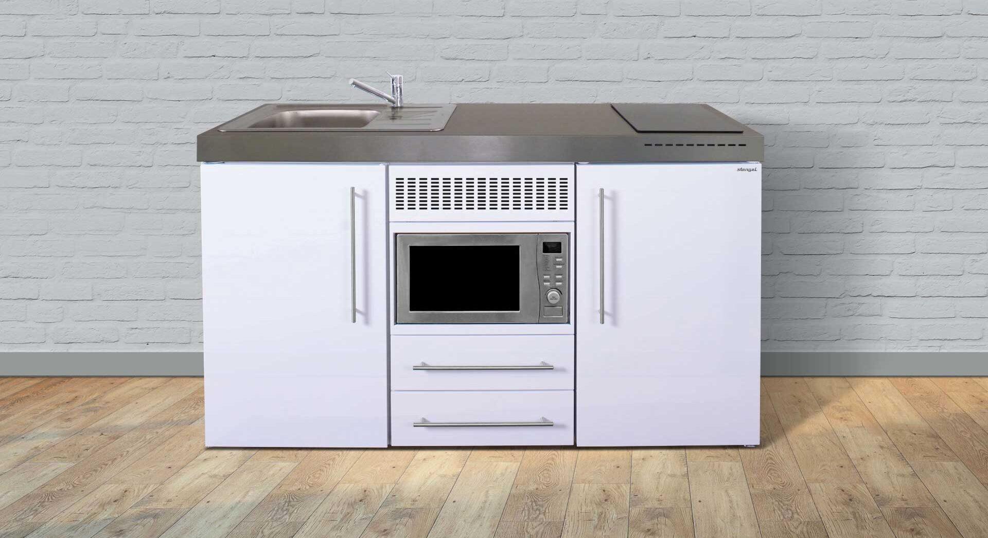 Minikøkken (stålkøkken) MPM 150 - inkl. hvidevarer. Bæredygtige og genanvendelige materialer.Pulverlakeret - vælg mellem 8 flotte farver. se pris/tilbud, produktdata og tilvalg hos Kimbrer Lines