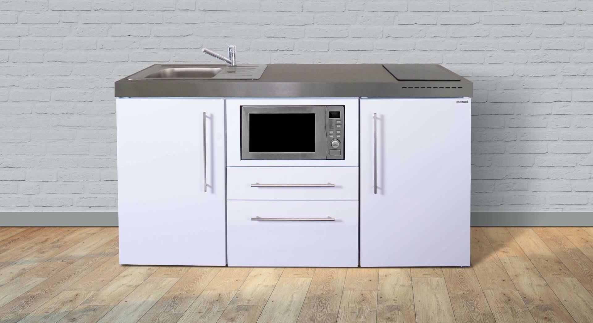MPM 160 minikøkken i rustfrit stål - inkl. hvidevarer. Attraktiv pris/tilbud, produktinfo og tilvalg. Kontakt Kimbrer Lines på 2512 6789.