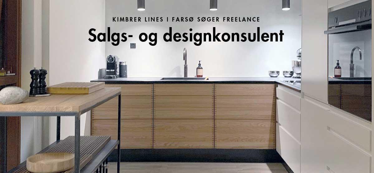 Job hos Kimbrer Lines: Freelance salgs- og designkonsulent til indretnings- og salgsarbejde over for private boligejere og erhvervskunder